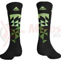 Sosete Merida MTB green/black