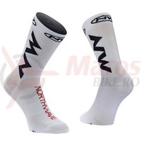 Sosete Northwave Extreme Air white/black/red