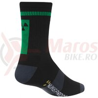 Sosete Nukeproof Blackline socks Black/Green