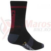 Sosete Nukeproof Blackline socks Black/Red