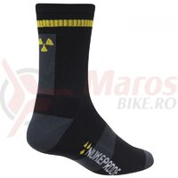 Sosete Nukeproof Blackline socks Black/Yellow