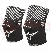 Sosete protectie genunchi Alpinestars MTB Knee Sock blac/white