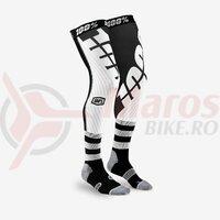 Sosete Rev Knee Brace Performance Moto Black/White Socks