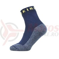 Sosete SealSkinz Warm Weather Soft Touch ankle length navy blue