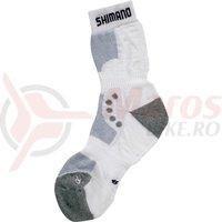 Sosete Shimano originals unisex pentru iarna alb
