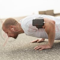 SP Connect suport telefon pe brat Fitness Bundle iPhone 5/5S/SE