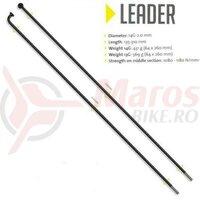 Spita Sapim Leader,neagra 2.0x188mm