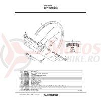 Spita Shimano WH-M565-F 266mm + Saiba