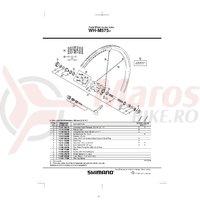 Spita Shimano WH-M575-R 260mm + Saiba
