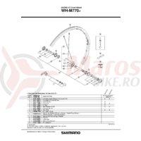 Spita Shimano WH-M770 278mm + Saiba
