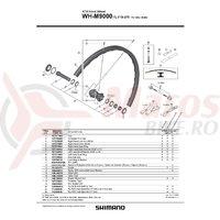 Spita Shimano WH-M9000-TL-F15-275 279mm + Saiba sferica