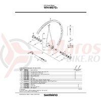 Spita Shimano WH-M970-F 278mm + Capat/Saiba