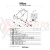 Spita Shimano Wh-RS10 284mm Argintiu