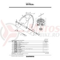 Spita Shimano WH-RS30-F 278mm