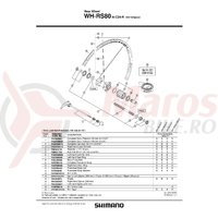 Spita Shimano WH-RS80-A-C24-R Dreapta 302mm