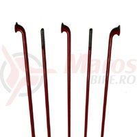 Spite CN Spoke inox 2x259mm rosii 100 buc