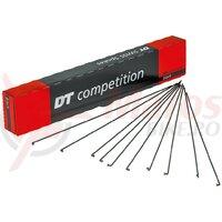 Spite DT Swiss 2.0x1.8x2.0x266mm 100 buc., black, Compet.Niro