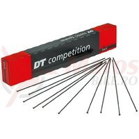 Spite DT Swiss 2.0x1.8x2.0x275mm (100 buc.)black, Compet., Straight Pull