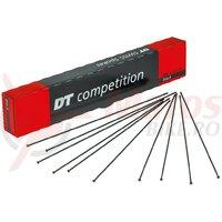 Spite DT Swiss 2.0x1.8x2.0x287mm (100 buc.) black, Compet., Straight Pull