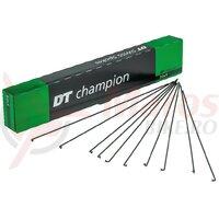 Spite DT Swiss Champion M 2x268mm, black, Niro, (100 buc.)