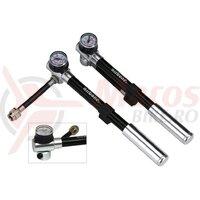 Pompa suspensii Airbone ZT-801 205mm, BLK, 300psi/20 bar