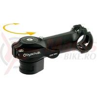 Pipa Speedlifter Stem Twist 75mm/8, 31,8mm handlebar clamping, black