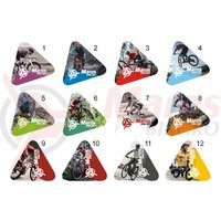 Sticker gratuit-actiune triunghi