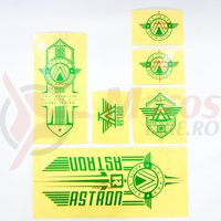 Sticker Radio ASTRON verde