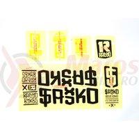 Sticker Radio SAIKO negru