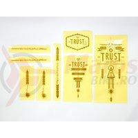 Sticker WTP Trust negru