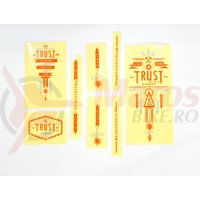 Sticker WTP Trust orange