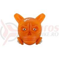Stop Bikefun Skully sclipitor spate orange