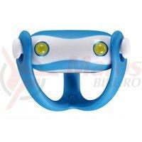 Stop fata Infini I-203W de silicon 2L albe 5F albastru