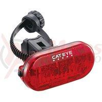 Stop spate cu baterii Cateye Omni 5 TL-LD155-R cu colier Flex Tight