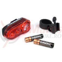 Stop spate Duracell B02 3led + 2AAA