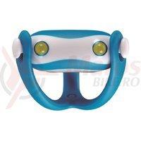 Stop spate Infini I-203R de silicon 2LED 2F albastru