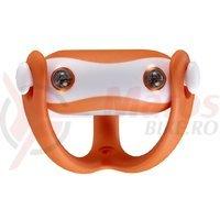 Stop spate Infini I-203R de silicon 2LED 2F portocaliu