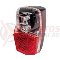 Stop spate Led Trelock Duo Batt LS 640 negru