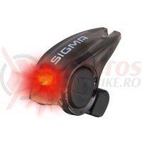 Stop spate pe cablu frana Sigma Brakelight negru