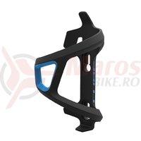 Suport bidon Cube HPP sidecage partea stanga negru/albastru