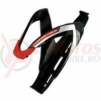 Suport bidon Elite Custom Race negru/ logo alb/rosu (21)