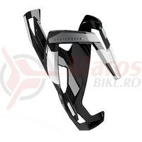 Suport bidon Elite Custom Race Plus negru/alb