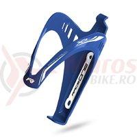 Suport bidon RaceOne X3-Race albastru/alb mat