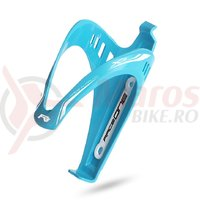 Suport bidon RaceOne X3-Race albastru deschis/alb
