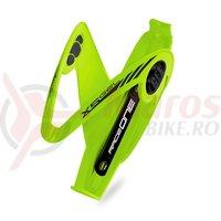 Suport bidon RaceOne X5-Gel verde/negru
