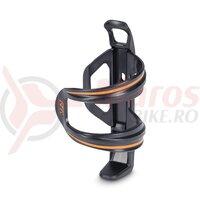 Suport Bidon RFR Bottle Sidecage Universal Negru/Portocaliu