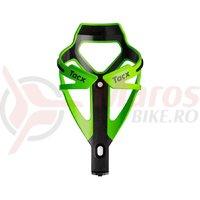 Suport bidon Tacx Deva negru/verde Cannondale