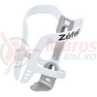 Suport bidon Zefal Pulse aluminiu alb