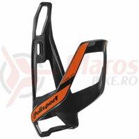 Suport bidonas - POLISPORT - PRO, negru/portocaliu