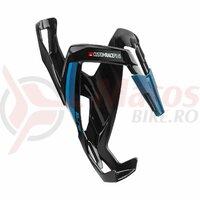 Suport De Bidon Elite Custom Race Plus Black Glossy Blue Graphic